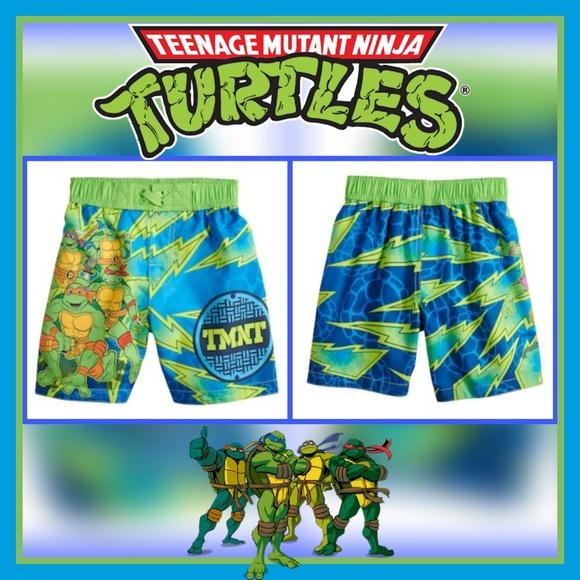 56c12bbf5a Nickelodeon Swim | Toddler Boys Tmnt Trunks Sz 4t | Poshmark